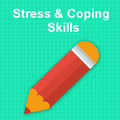 Stress & coping skills tile